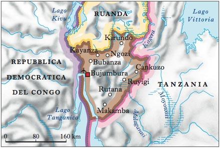 Cartina Dell Africa Orientale.Burundi Nell Enciclopedia Treccani