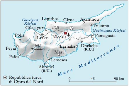 Cartina Geografica Isola Di Creta.Cipro Nell Enciclopedia Treccani