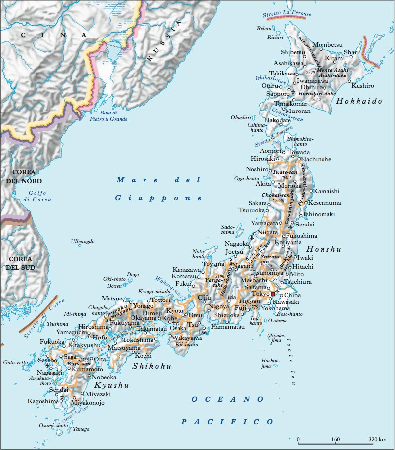 Cartina Fisica Del Giappone In Italiano.Giappone Nell Enciclopedia Treccani