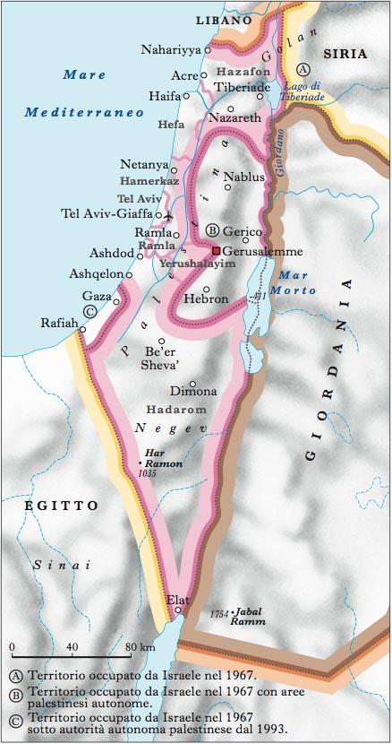 Cartina Fisica Dell Israele.Israele Nell Enciclopedia Treccani