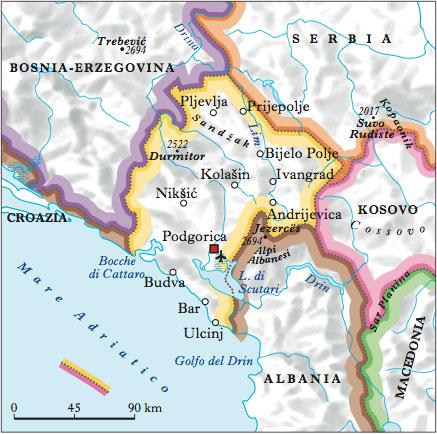 Montenegro Nellenciclopedia Treccani