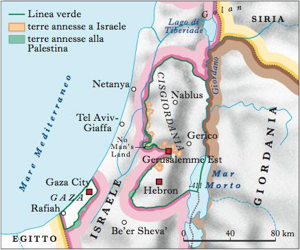 Israele E Palestina Cartina.Palestina Nell Enciclopedia Treccani
