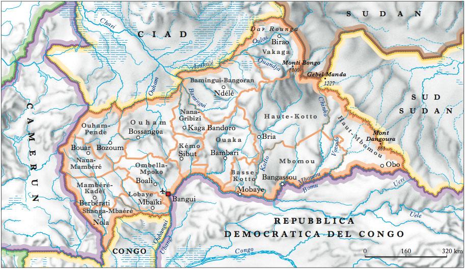 Centrafricana, Repubblica