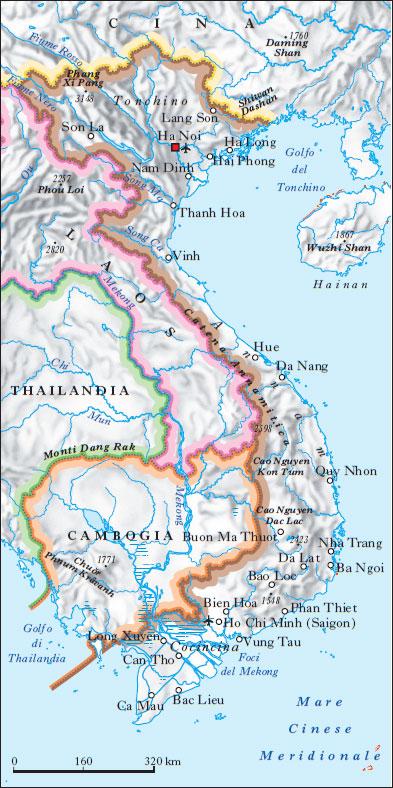 Tra Vietnam E Thailandia Cartina Geografica.Vietnam Nell Enciclopedia Treccani