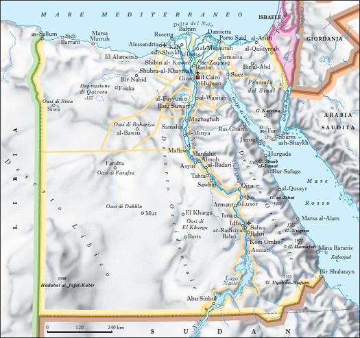 Cartina Del Egitto.Egitto Nell Enciclopedia Treccani