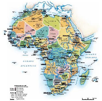 Africa Politica Cartina In Italiano.Africa Nell Enciclopedia Treccani