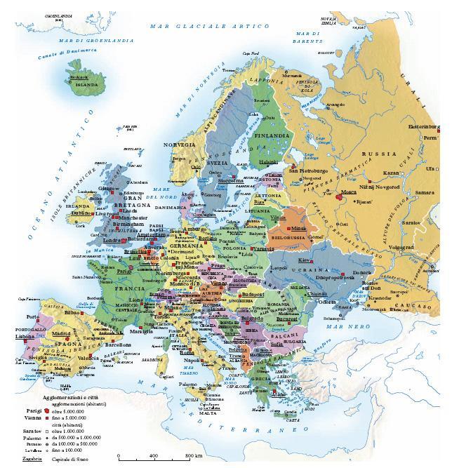 Europa Nellenciclopedia Treccani