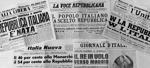 L italia repubblicana treccani il portale del sapere for Repubblica italiana nascita