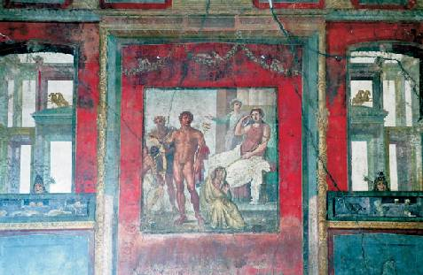 Lo stile prospettico della pittura romana treccani il for Case del ranch di stile della prateria