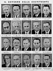 La vicenda costituente italiana treccani il portale del for Sito della camera dei deputati