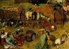 Peter Bruegel il Vecchio, particolare del Trionfo della morte (1562), olio su tela, Madrid, Museo del Prado. Immagine tratta dal sito: www.uniurb.it