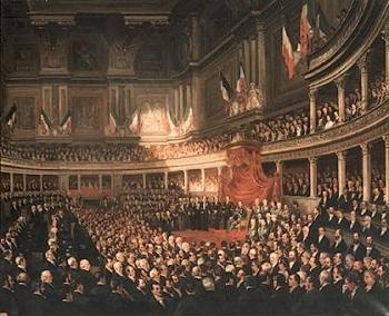 Il voto in italia il suffragio universale treccani il for Storia del parlamento italiano
