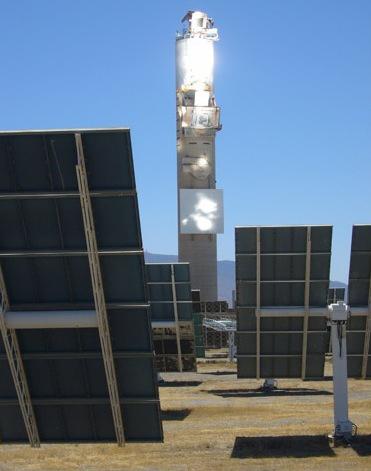 La luce treccani il portale del sapere - Centrale solare a specchi piani ...