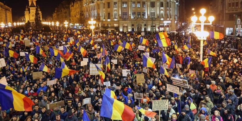 Romania, dove la lotta alla corruzione riempie le piazze