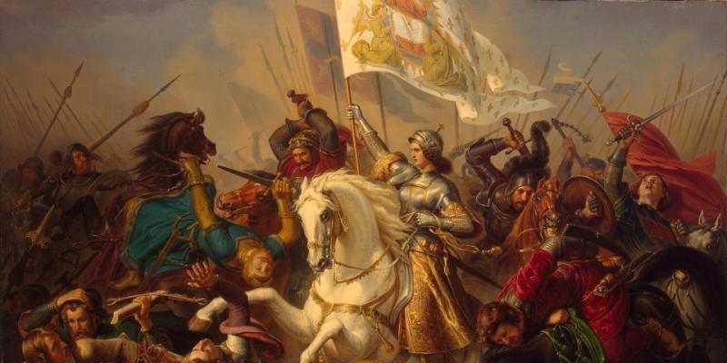 Giovanna d'Arco, al rogo per la Francia e per Dio