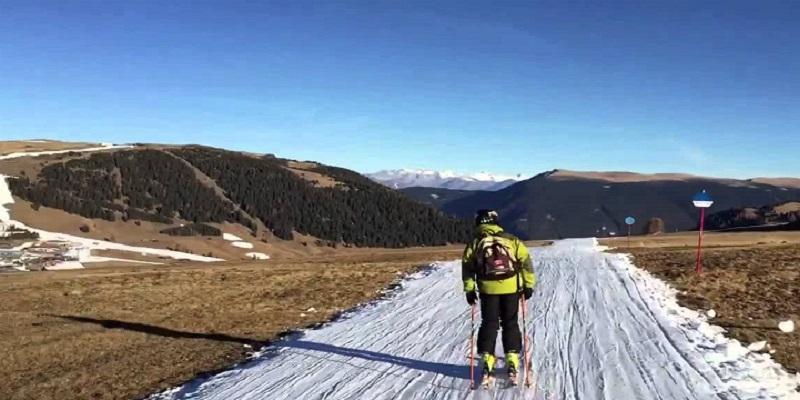 Il rischio di Alpi senza neve