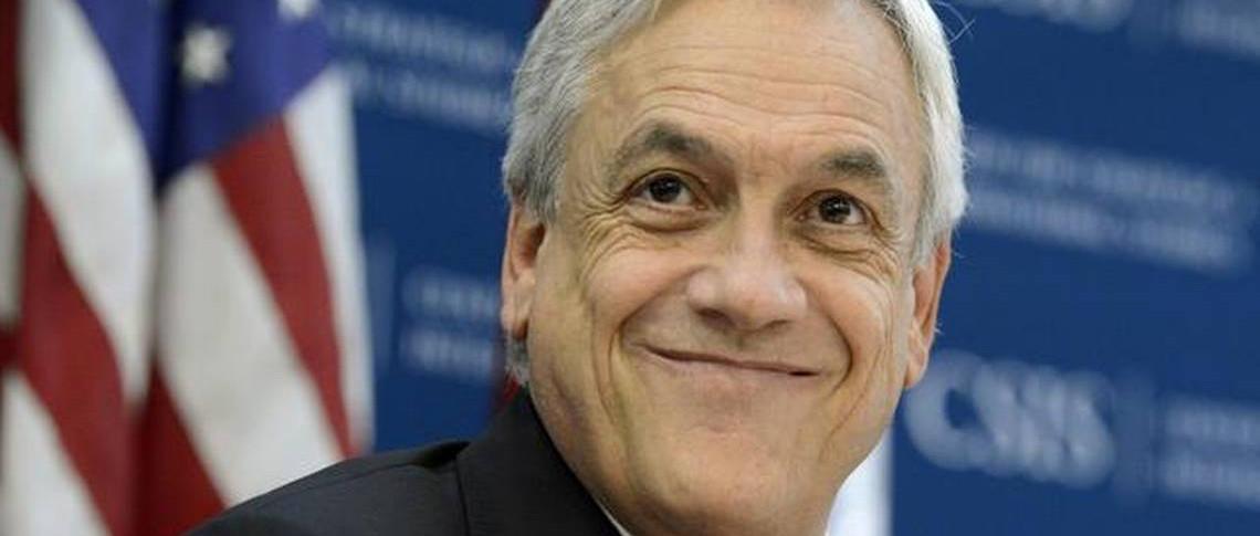 Sebastián Piñera torna a La Moneda