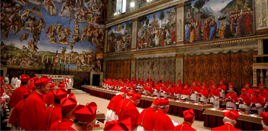 I punti cardinali: geopolitica di un conclave