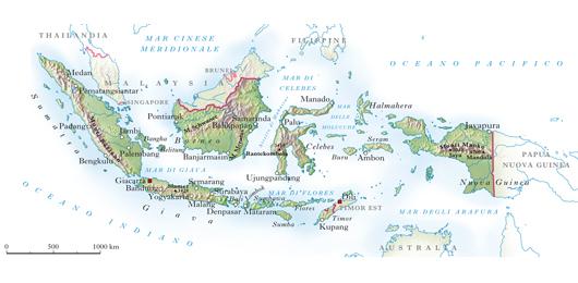 Il terremoto in Indonesia