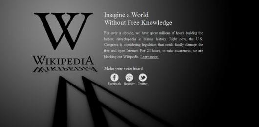 «Immagina un mondo senza la libera conoscenza»