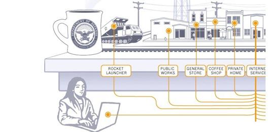 La 'cybercity' dove si combatte la guerra del futuro
