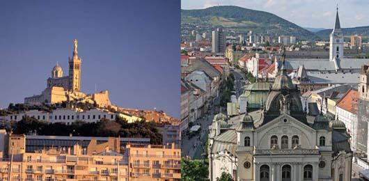Marsiglia e Košice capitali europee della cultura 2013