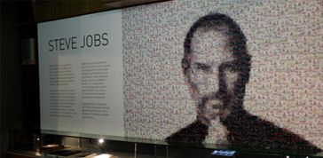 Story of a bite: una mostra ricorda Steve Jobs
