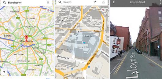 Sull'iPhone tornano le mappe di Google
