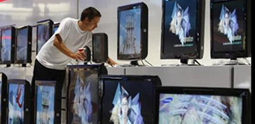 Tv, Samsung si mangia la Sony