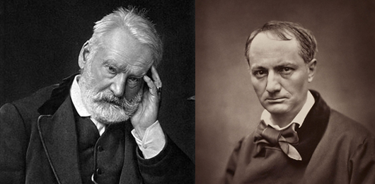 Baudelaire: Hugo? un imbecille