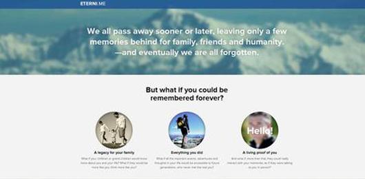 Arriva Eterni.me, il software che dona l'immortalità