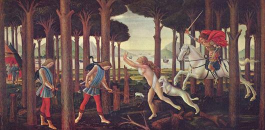 Il femminicidio secondo Boccaccio