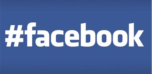 Su Facebook arrivano gli hashtag