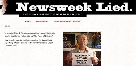 Il 'papà' di Bitcoin fa causa a Newsweek
