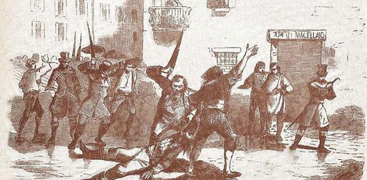 Risultati immagini per manzoni e la folla