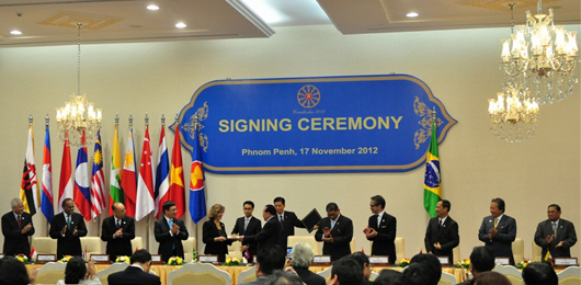 Obama in Cambogia al vertice ASEAN