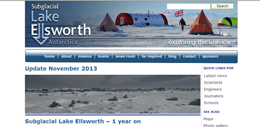 Guerra freddissima nell'Antartide