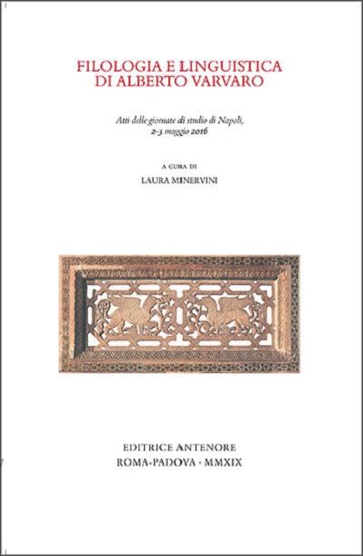 Filologia e linguistica di Alberto Varvaro