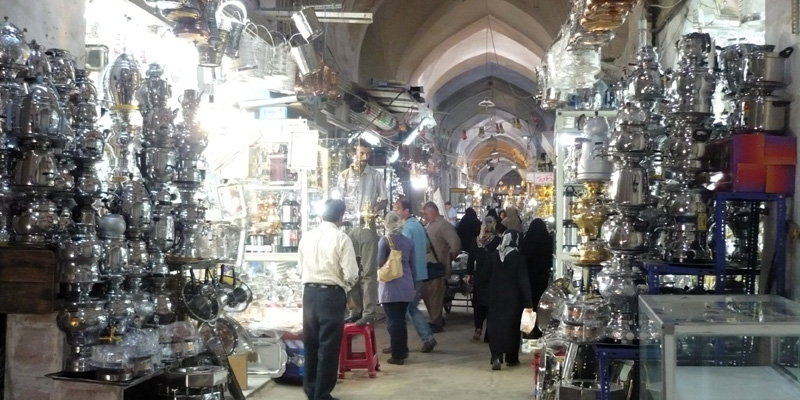 Via della Seta: Il bazar di Isfahan