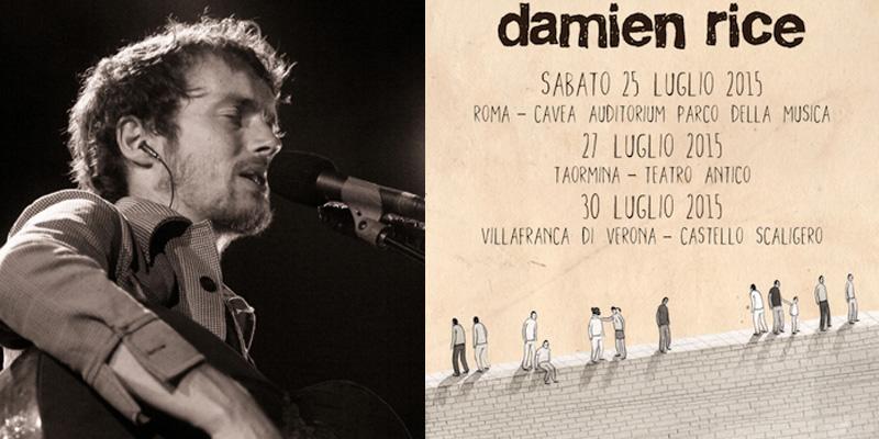 In Italia Damien Rice, il più radical dei cantautori