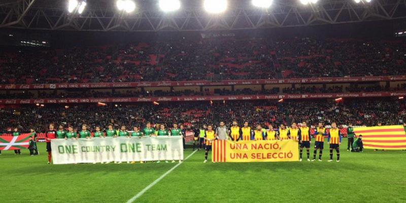 Catalani contro baschi, il derby delle nazionali separatiste