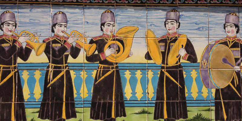 Via della seta: La reggia del Golestan