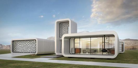 L'ufficio del futuro, stampato in 3D
