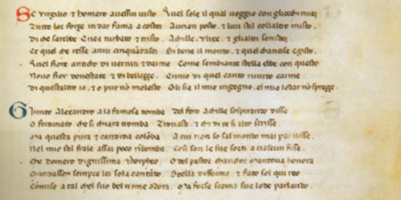 Il copista fantasma di Petrarca