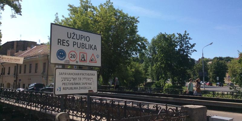 Užupis, la repubblica fondata su Frank Zappa