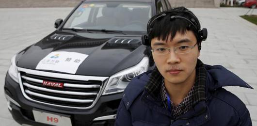 Dalla Cina la prima automobile guidata con il pensiero