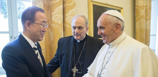 Il Vaticano in prima fila contro il cambiamento climatico