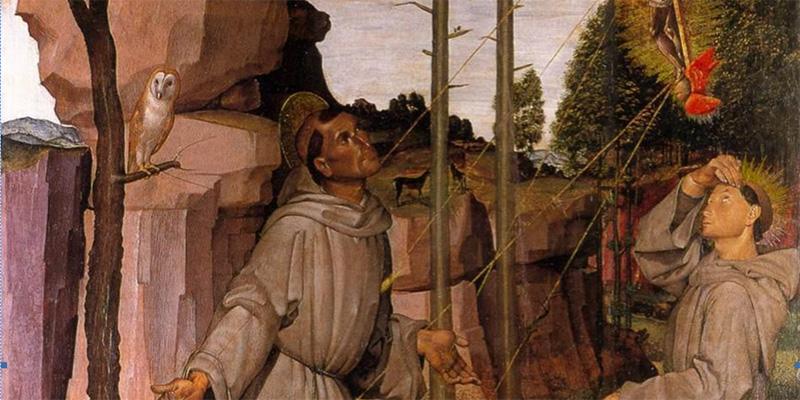 Selfie d'artista: Bartolomeo della Gatta e San Francesco