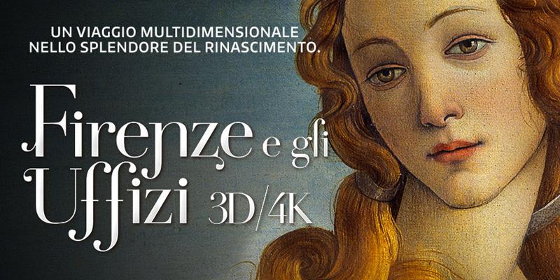 Firenze e gli Uffizi in 3D/4K