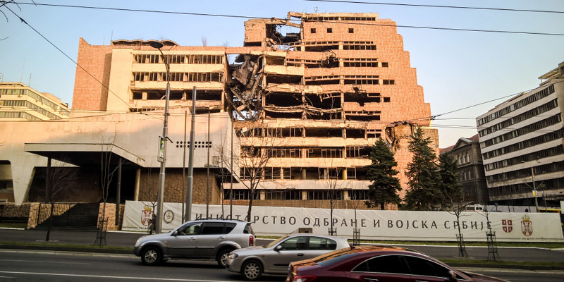 On the road nei Balcani, tra i fantasmi delle guerre